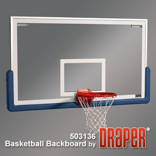 Draper 42x72 basketball backboard