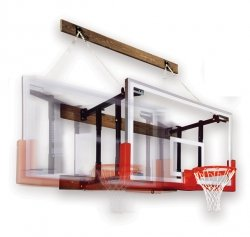 Side Folding Wall Mount Basketball Systems