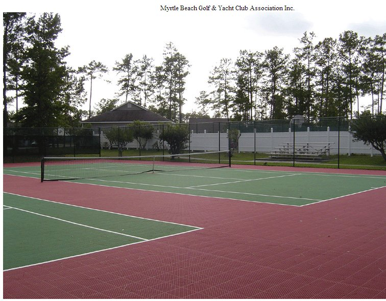Myrtle Beach Golf & Yatch Club Tennis Courts