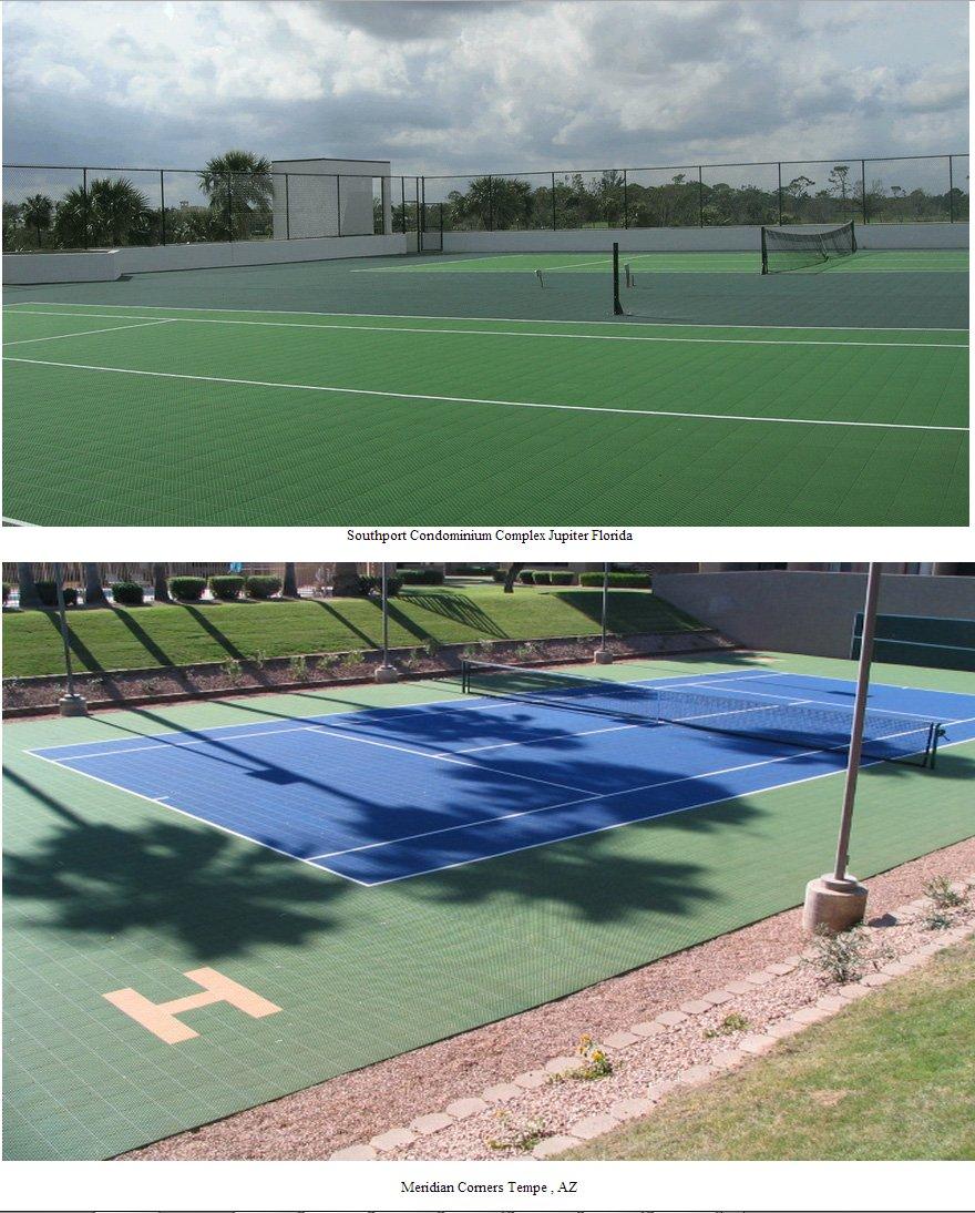 AZ tennis court install