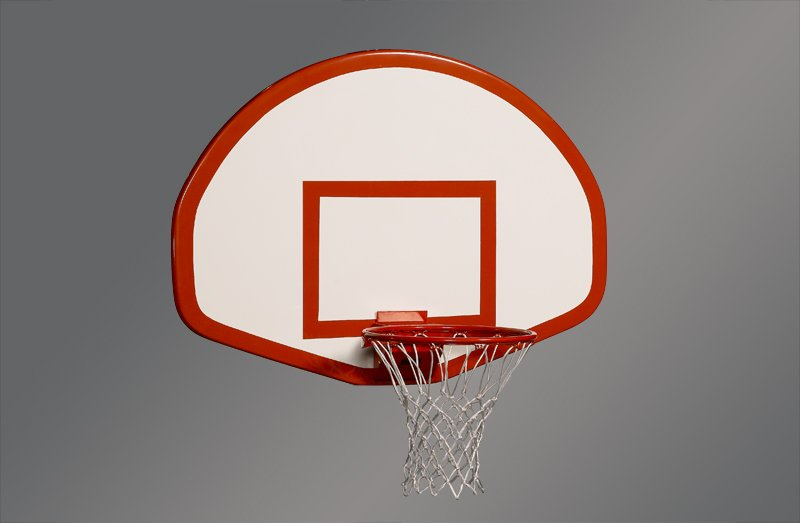 "Fan Fiberglass 54"" x 39""Basketball Backboard"