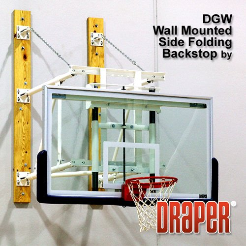 Side Folding Wall Mounted Backstops