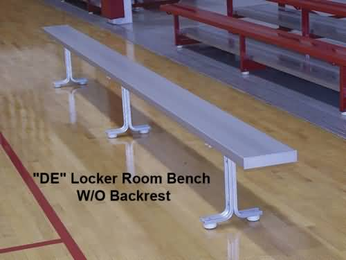 Be De15 Fp Portable Aluminum Bench For Indoor Use