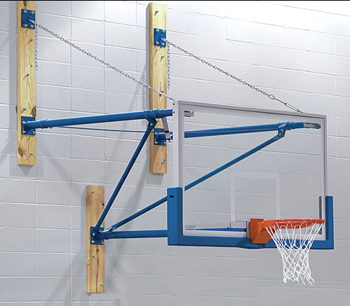 Wall Mount Basketball Hoops (economy & custom cut to size)