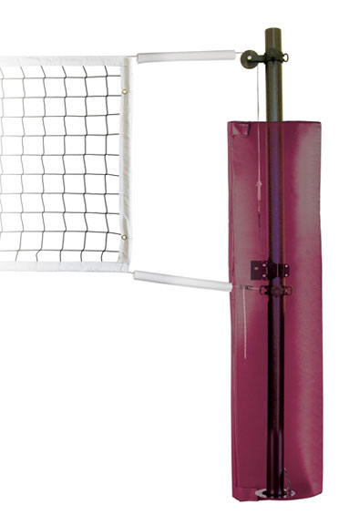 Sand Spectrum Complete Recreational Aluminum Volleyball System w/Sleeves for Sand