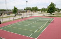 sport floor tennis court tile