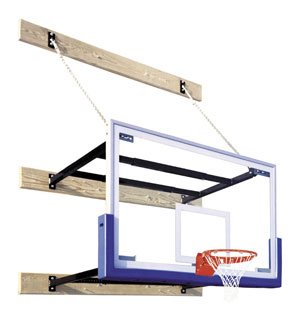 Stationary Wall Mounted Basketball Systems