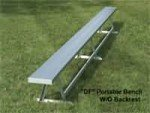 Portable Bench without Back (Outdoor)