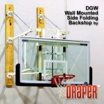 Side Folding Wall Mount Basketball Goals