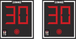 24x27 Basketball Shot timer set