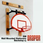SW Stationary Wall Mount Basketball Goal