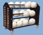 Ball Hog Super Duty Volleyball Carrier (Holds 30 Volleyballs)