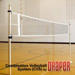 Draper 500011 Combination 2 Court Volleyball System