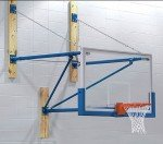 Stationary Wall Mounted Basketball Goals