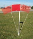 Official soccer corner flags