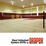 Draper 500021 Steel Volleyball System (SVS)