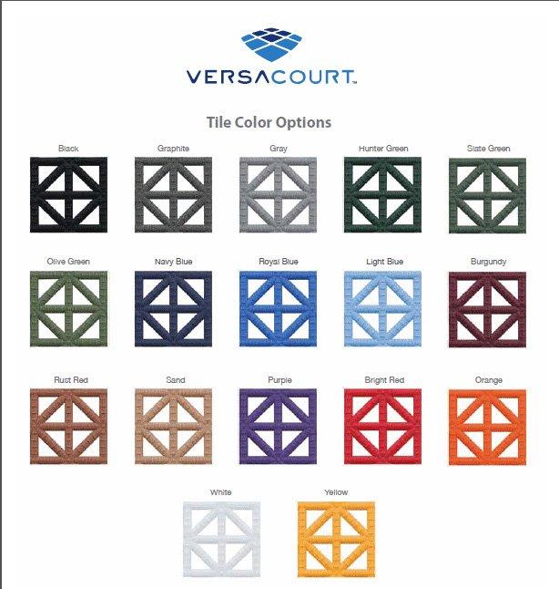 Tile Color Chart
