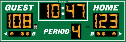 Outdoor Basketball Scoreboards