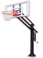 In Ground Adjustable Basketball Systems
